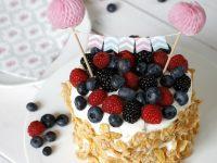 Melonentorte: Geniales Rezept für eine Sommerparty