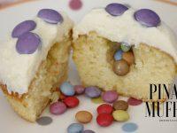 Geniales Partyrezept: Pinata Cupcakes