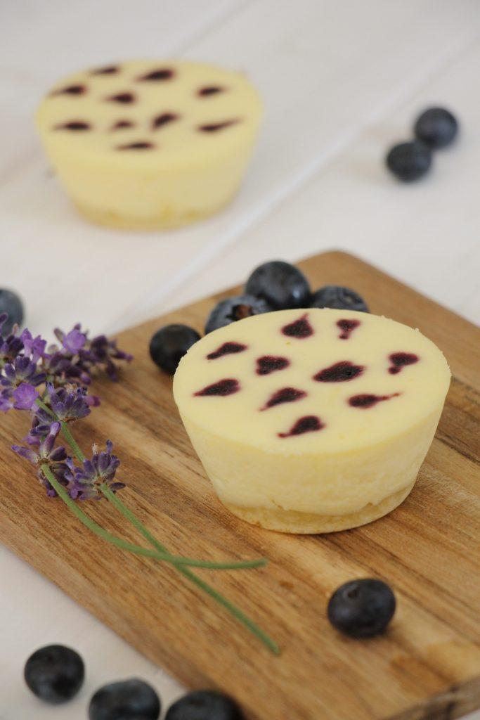 Rezept Käsekuchen-Muffins mit Boden
