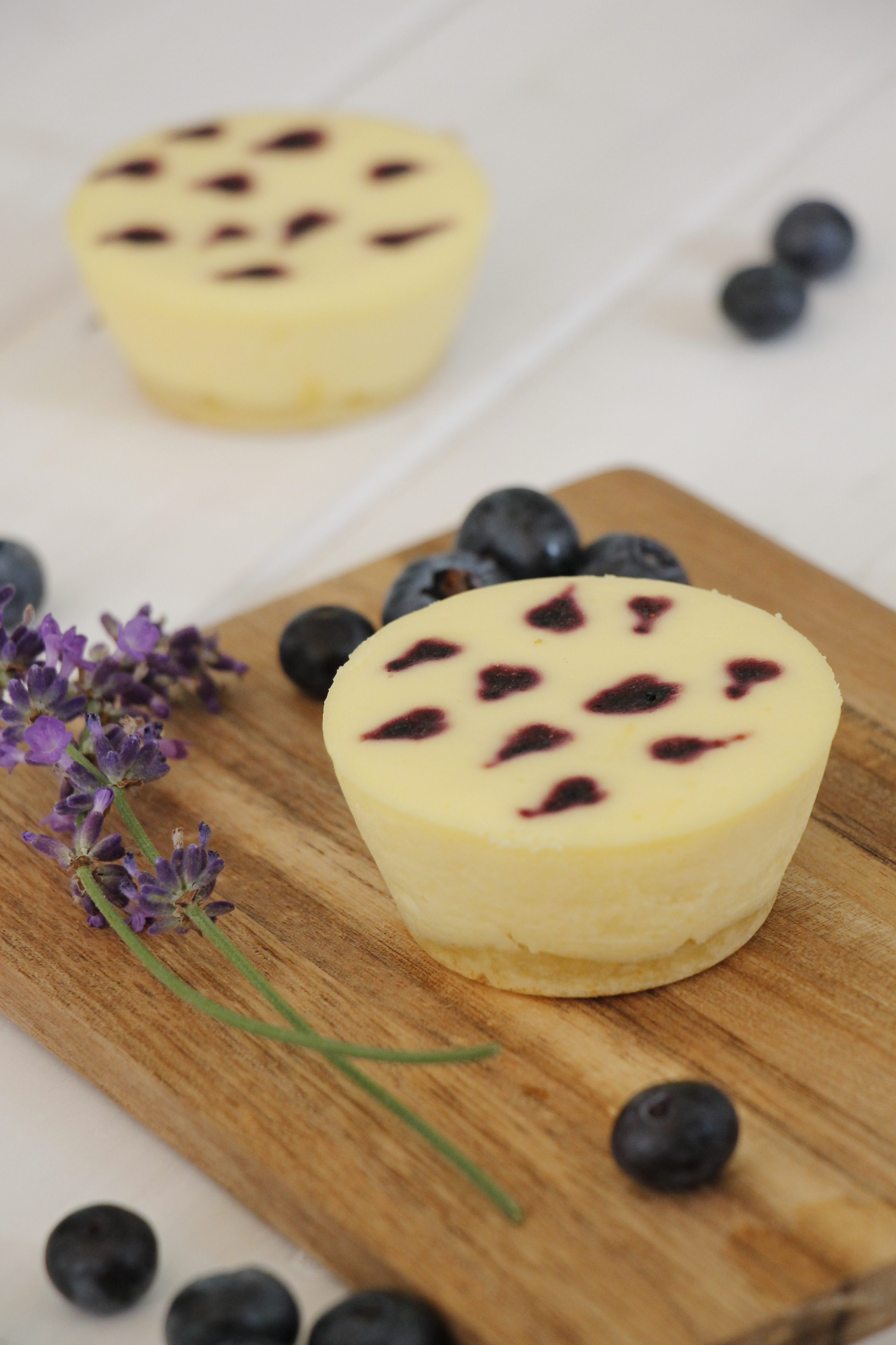 Rezept Kasekuchen Muffins Mit Boden Lavendelblog