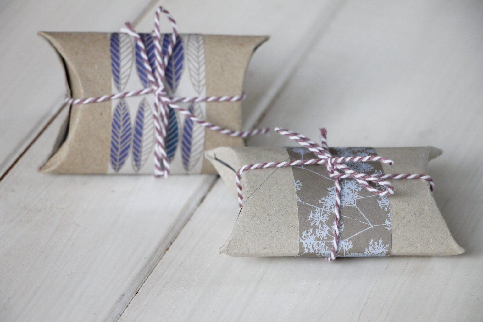 schnelle Geschenkverpackung basteln
