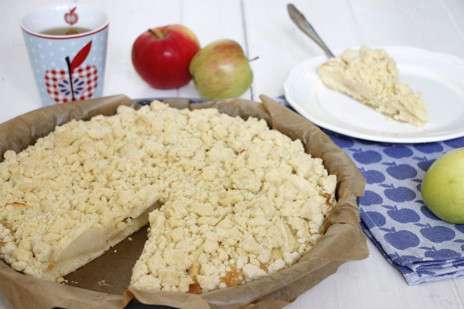 Apfelstreuselkuchen Rezept