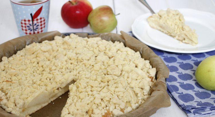 Apfelstreuselkuchen Rezept Für Den Herbst Lavendelblog