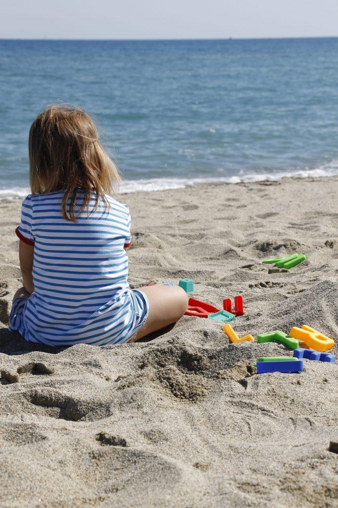 Buchstaben Sandspielzeug