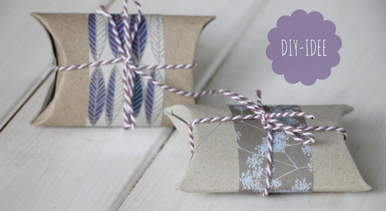 diy kleine geschenkverpackung aus klopapierrolle basteln lavendelblog. Black Bedroom Furniture Sets. Home Design Ideas