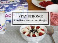 Familienwahnsinn: Ein Morgen mit der Lavendelfamilie und Actimel von Danone