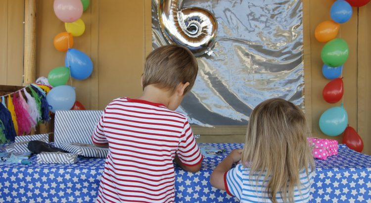Kindergeburtstag feiern Ideen