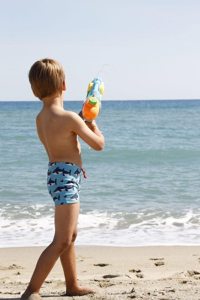 Strandspiel Idee