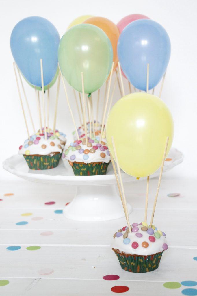 Ballon-Muffins Rezept