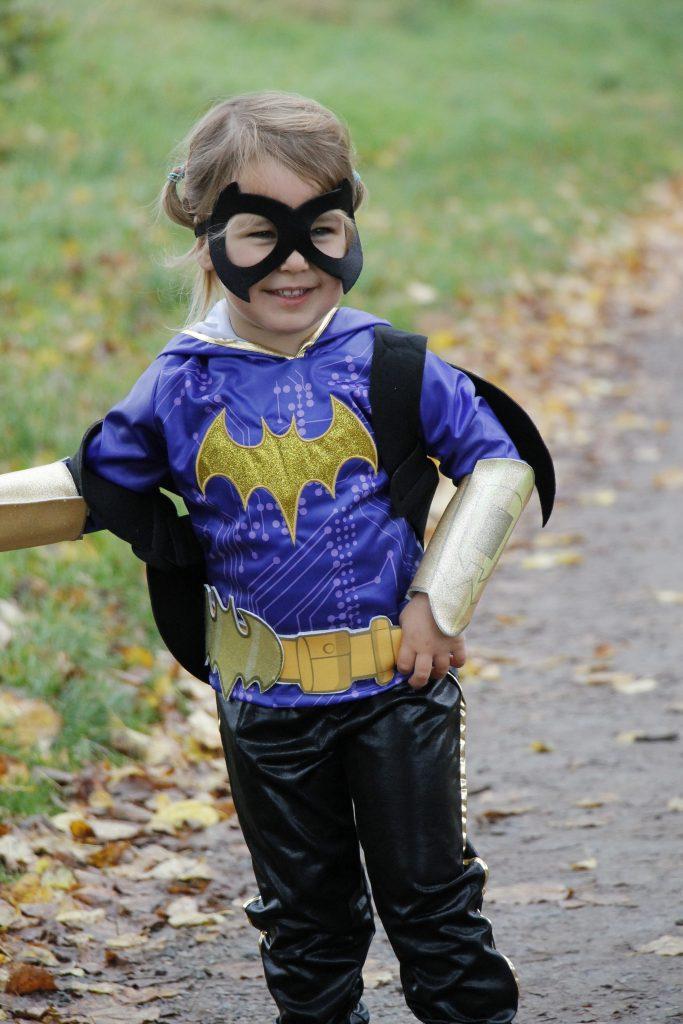 Batgirl Kostüm Halloween Verkleidung