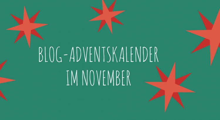 Blog-Adventskalender - Lavendelblog Vorab-Adventskalender