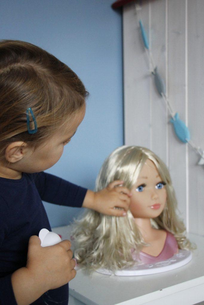 Frisierkopf Sister Styling Head - Schminkkopf Baby Born