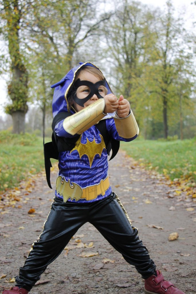 Halloween Kostüm Batgirl DC Super Hero Girls
