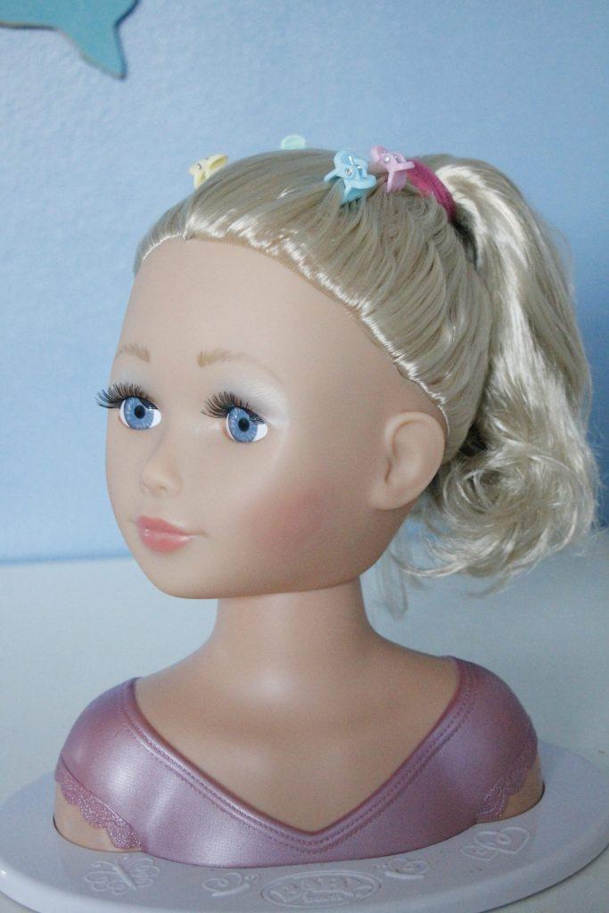 Idee Weihnachtsgeschenk Mädchen - Schminkkopf Baby Born