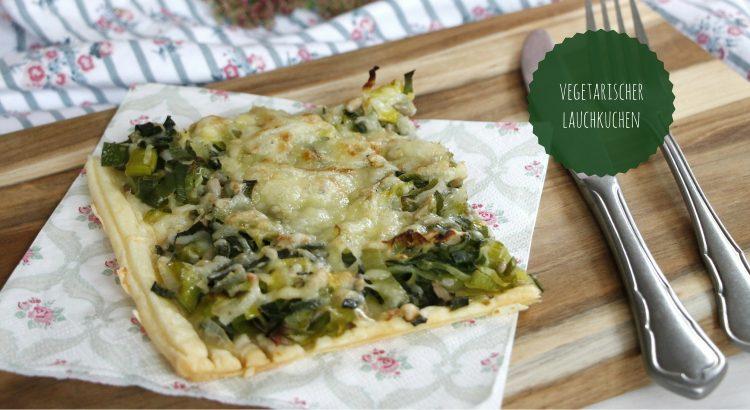 Lauchkuchen vegetarisch Rezept