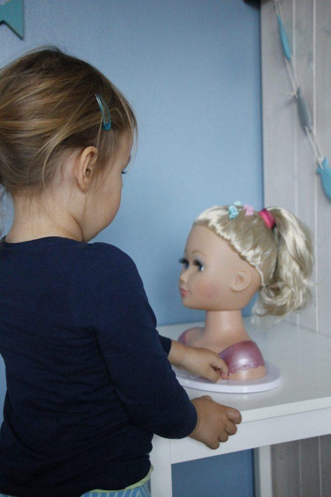 Sister Styling Head Baby Born Schminkkopf