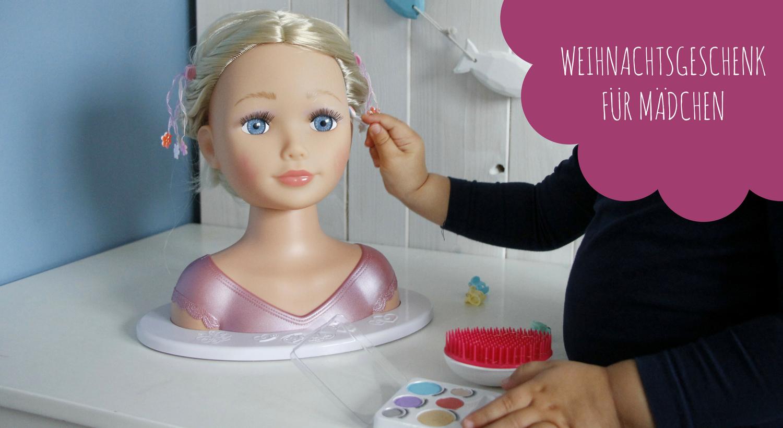 Weihnachtsgeschenk Mädchen Puppe - Lavendelblog