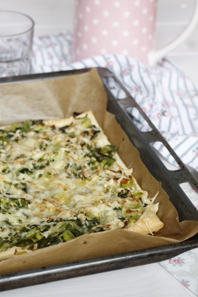 vegetarischer Lauchkuchen Rezept