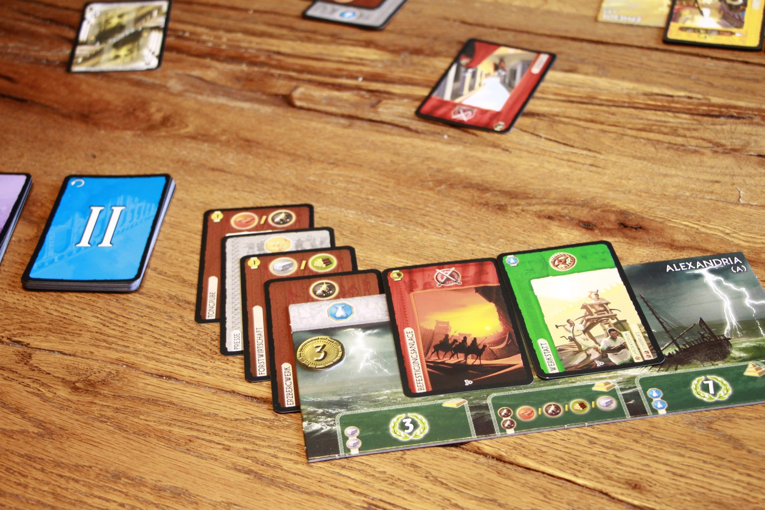 7 Wonders Asmodee Strategiespiel