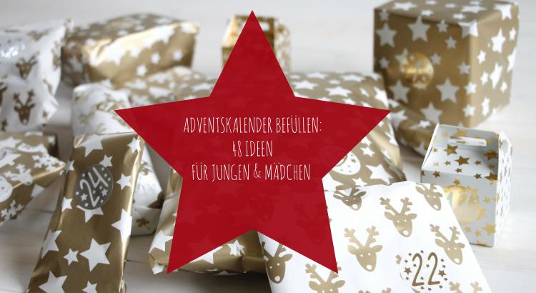 Weihnachtskalender 2019 Mädchen.Adventskalender Befüllen Ideen Für Einen Jungen Adventskalender Und