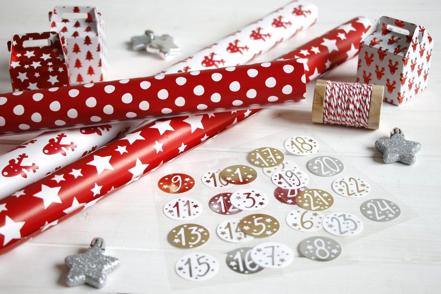 Adventskalendergeschenke kreativ verpacken