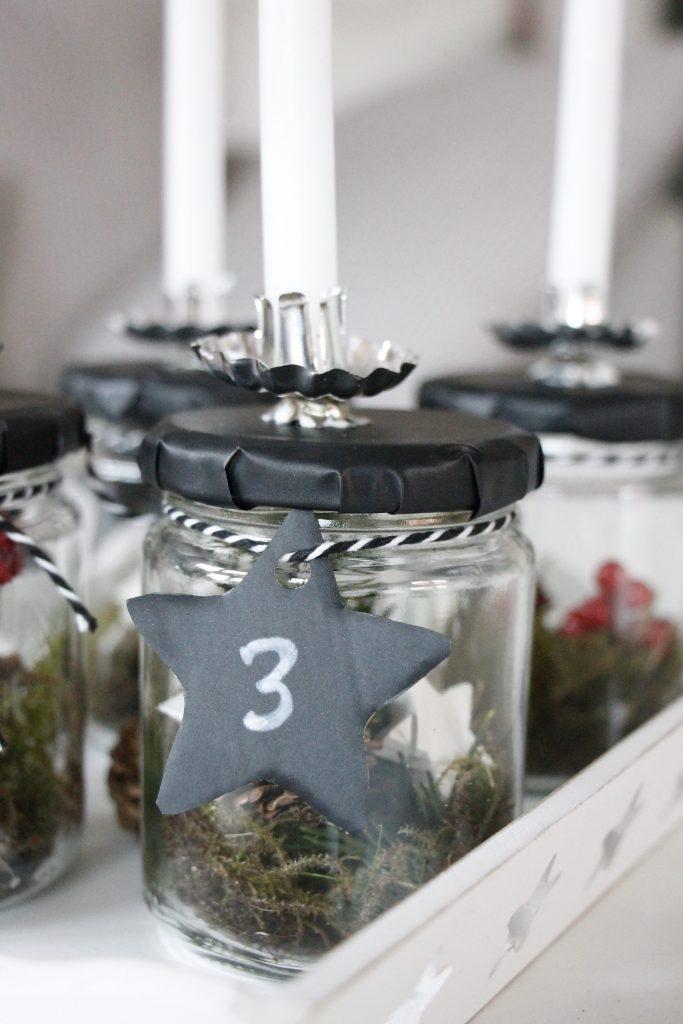 Adventskranz weiße Kerzen OTTO
