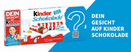 Visual kinder Schokolade