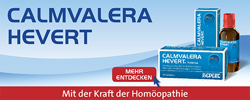 Calmvalera Hevert Banner