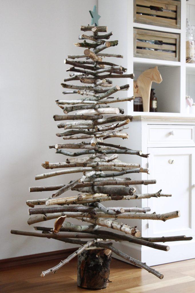 Holz Weihnachtsbaum DIY