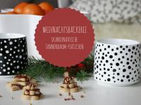 Skandinavische Kekse: Tannenbaum-Plätzchen mit Schokolade