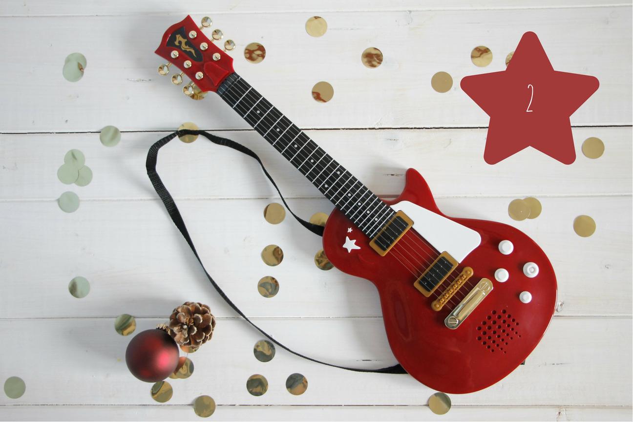 Kindergitarre Geschenkidee Weihnachten Kinder