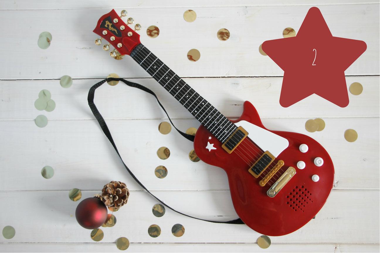 kindergitarre geschenkidee weihnachten lavendelblog. Black Bedroom Furniture Sets. Home Design Ideas