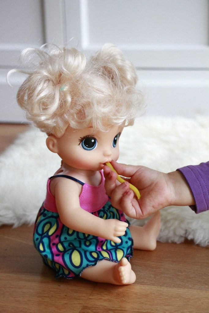 Puppe für Weihnachten