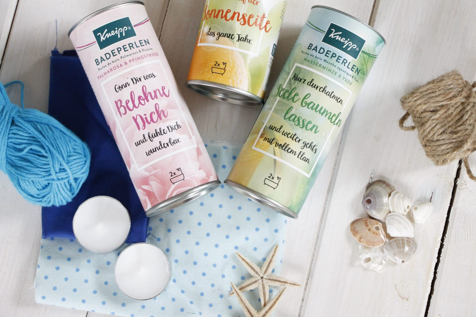 Upcycling Idee Dose Kneipp