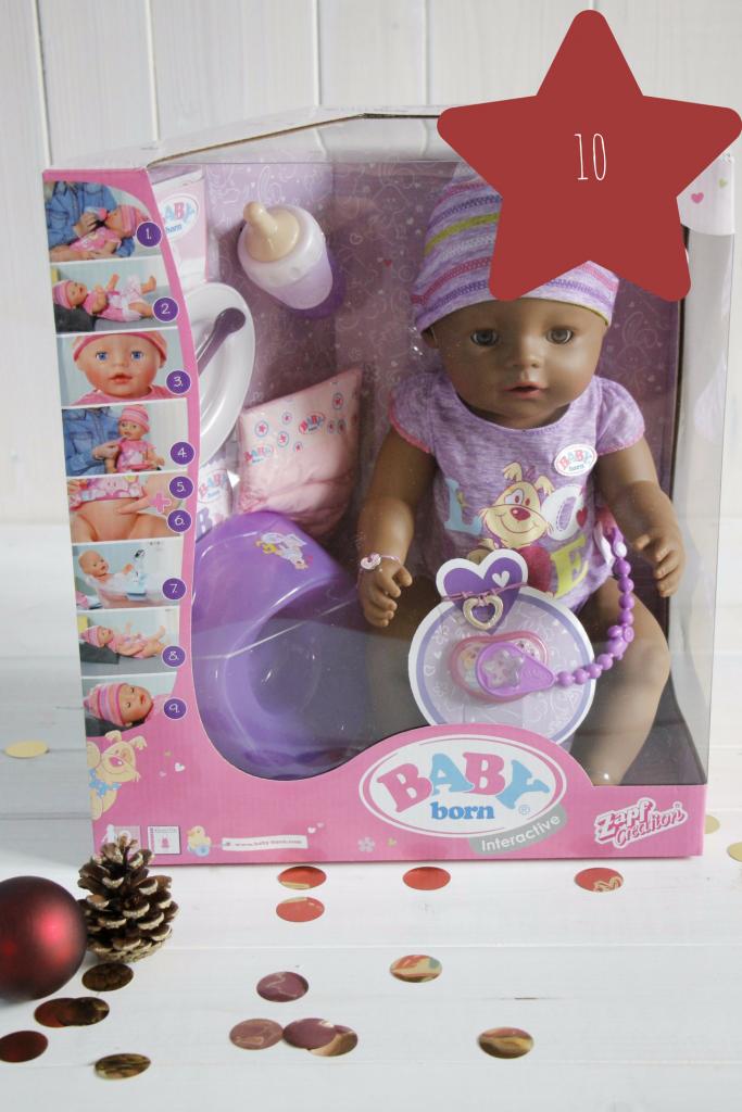 Weihnachtsgeschenk Mädchen Puppe