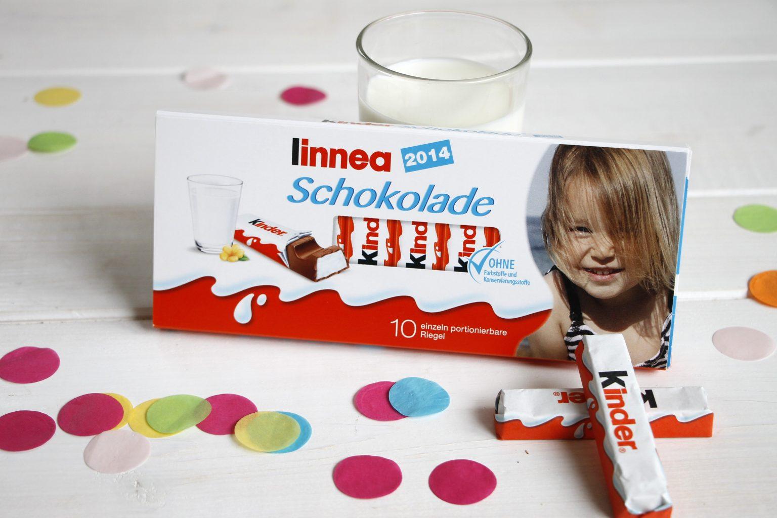 personalisierte kinder Schokolade