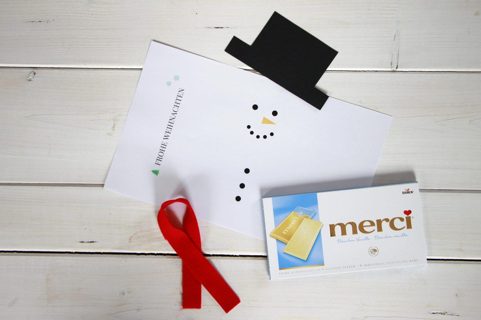 Dankeschön-Geschenk Weihnachten Idee