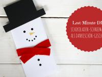 Dankeschön-Geschenk basteln: Geldgeschenke Weihnachten kreativ verpacken