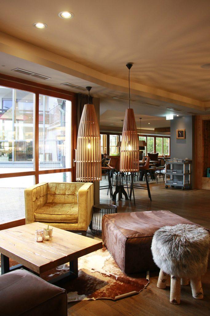Familotel Sonnenpark Loungebereich