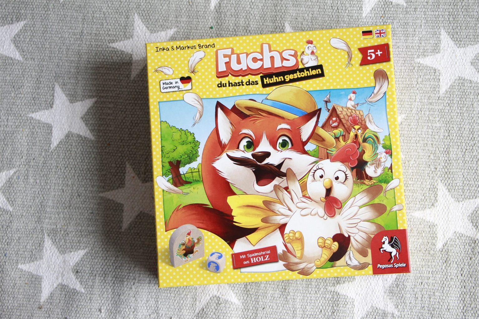 Fuchs du hast das Huhn gestohlen Pegasus Spiele Test