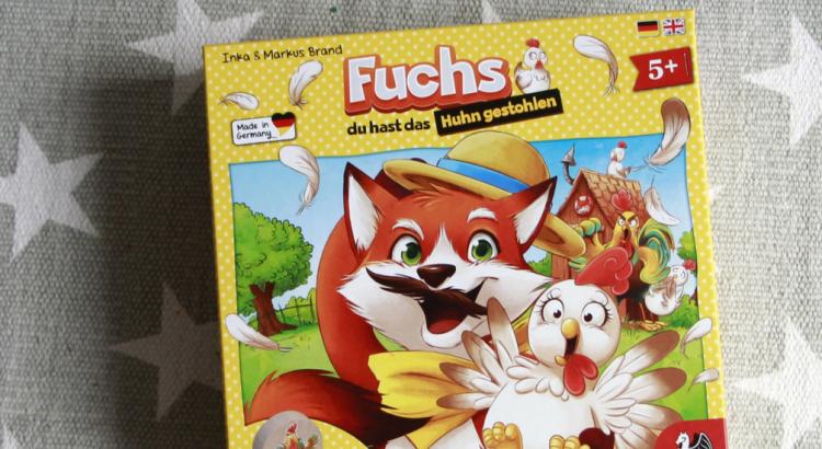 Gewinnspiel Pegasus Spiele Fuchs du hast das Huhn gestohlen Spieletipp