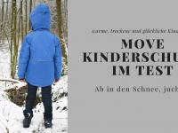 MOVE by Melton Kinderschuhe entdecken den Schnee