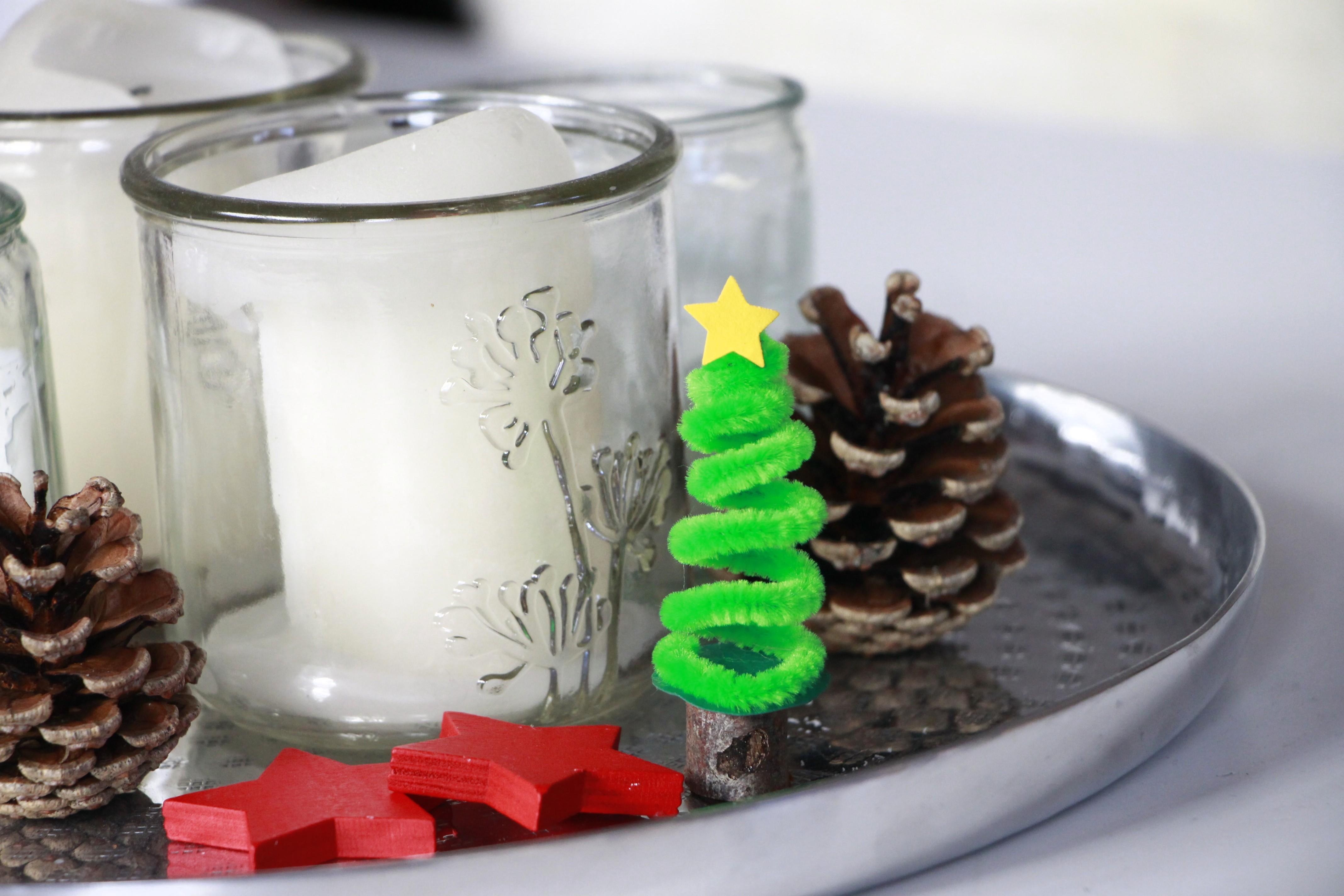 pfeifenputzer bastelideen weihnachten lavendelblog. Black Bedroom Furniture Sets. Home Design Ideas