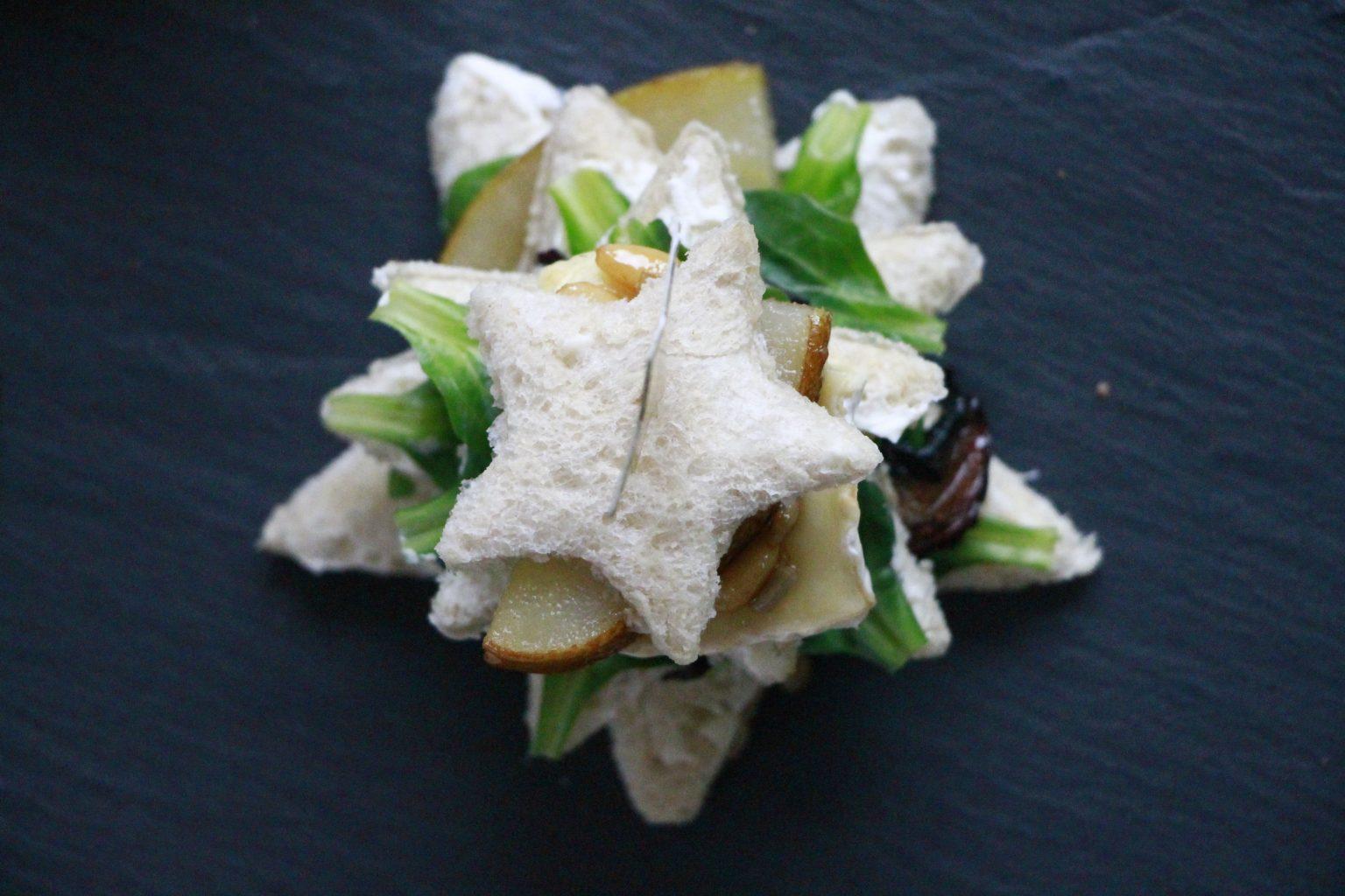 Snacks zu Weihnachten: Rezept für Weihnachtssandwiches - Lavendelblog