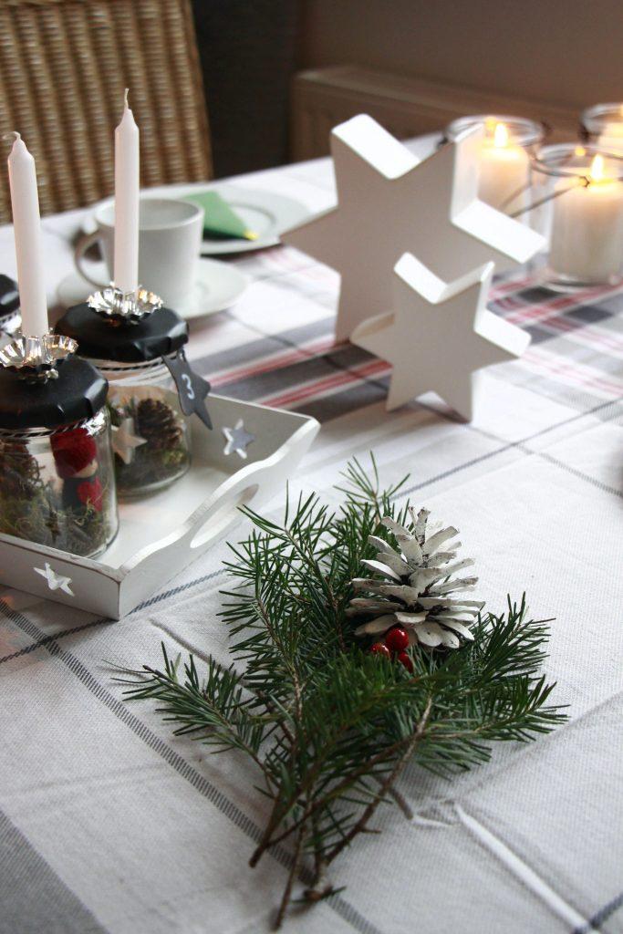 Tisch dekorieren Weihnachten Erwin Müller
