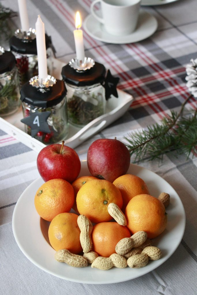 Tisch dekorieren Weihnachten Idee Erwin Müller