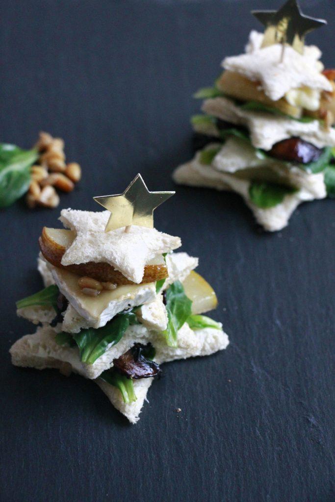 Weihnachtssandwiches Rezept
