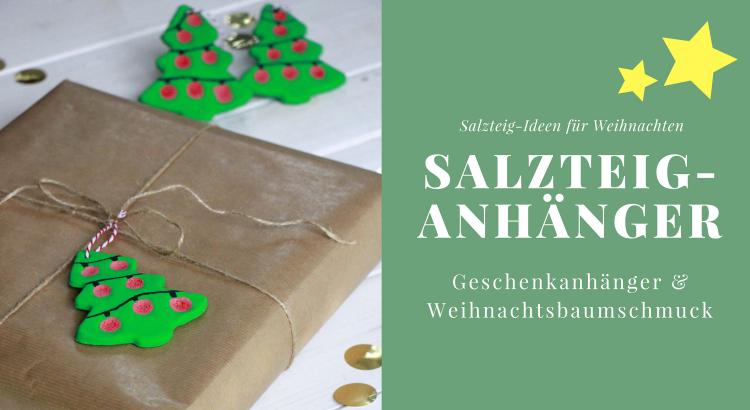 Bastelidee Fur Weihnachten Geschenkanhanger Und