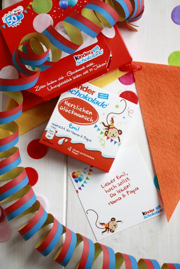 Ferrero kinder Schokolade Mini-Tafel gratis