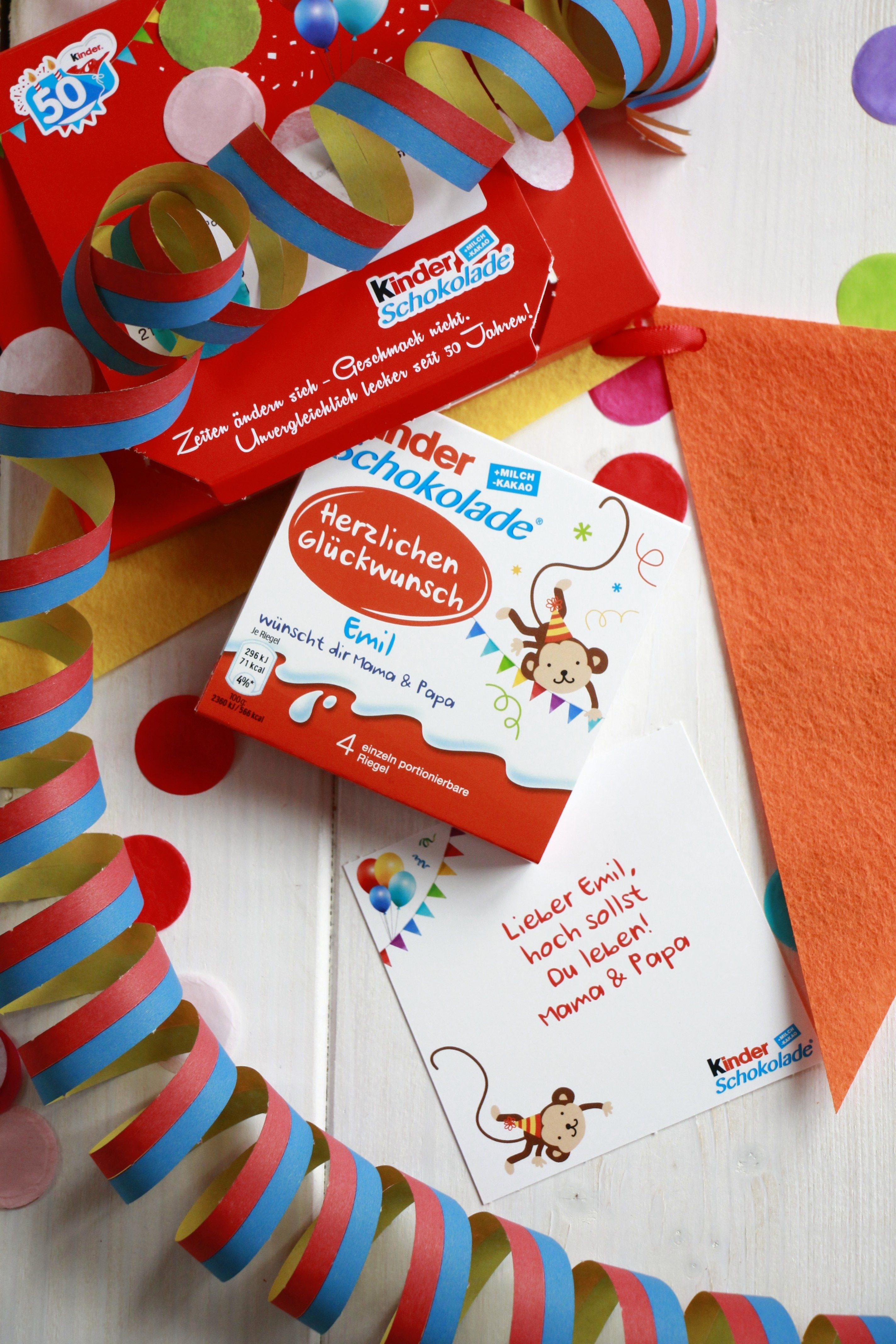 Ferrero Kinder Schokolade Mini Tafel Gratis Lavendelblog